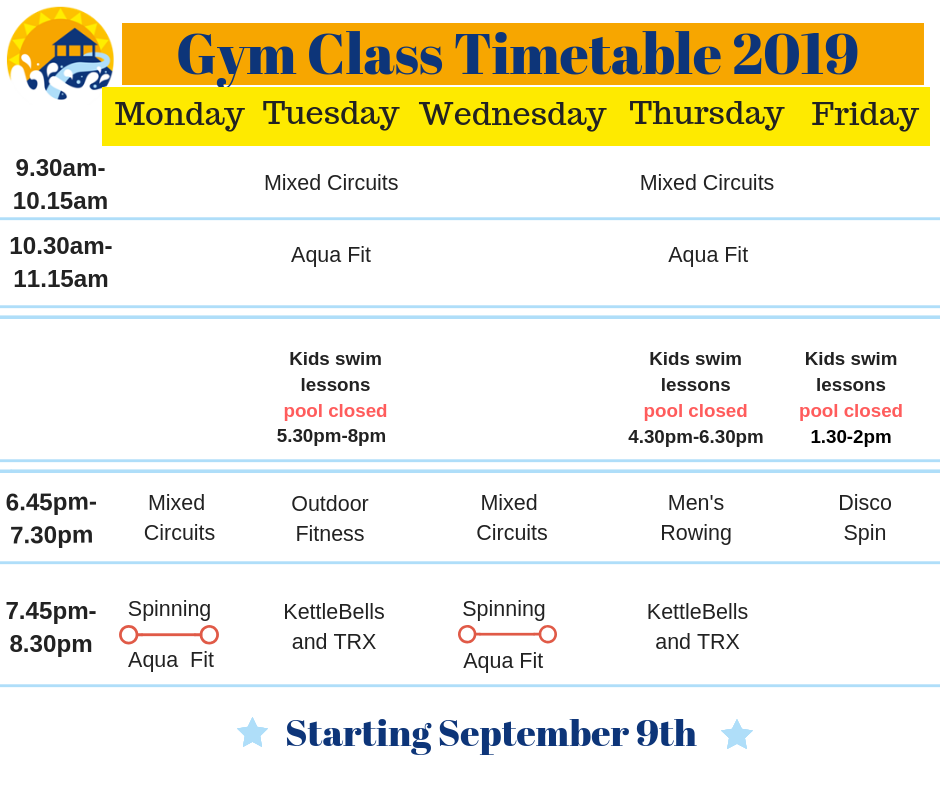 Class timetable 2019 fb